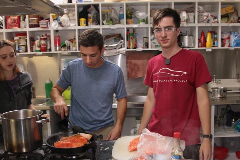 Logan cooking