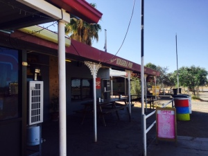 the Kulgera pub - the biggest establishment in Kulgera