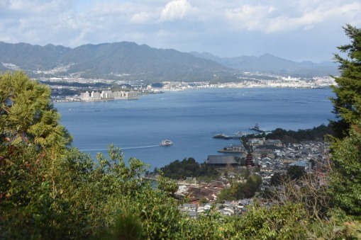 Miyajima from above