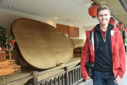 Hayden and giant rice scoop