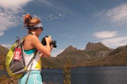 standing on Glacier Rock