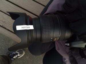 Hayden fixed my camera!