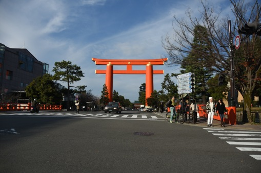 entrance to Heian Shrine