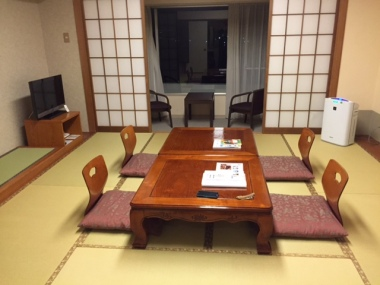 Japanese-style room at Bay Resort Hotel