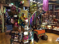 bohemian-themed store
