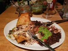 devoured chimichanga