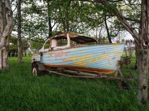 boat lives at barn